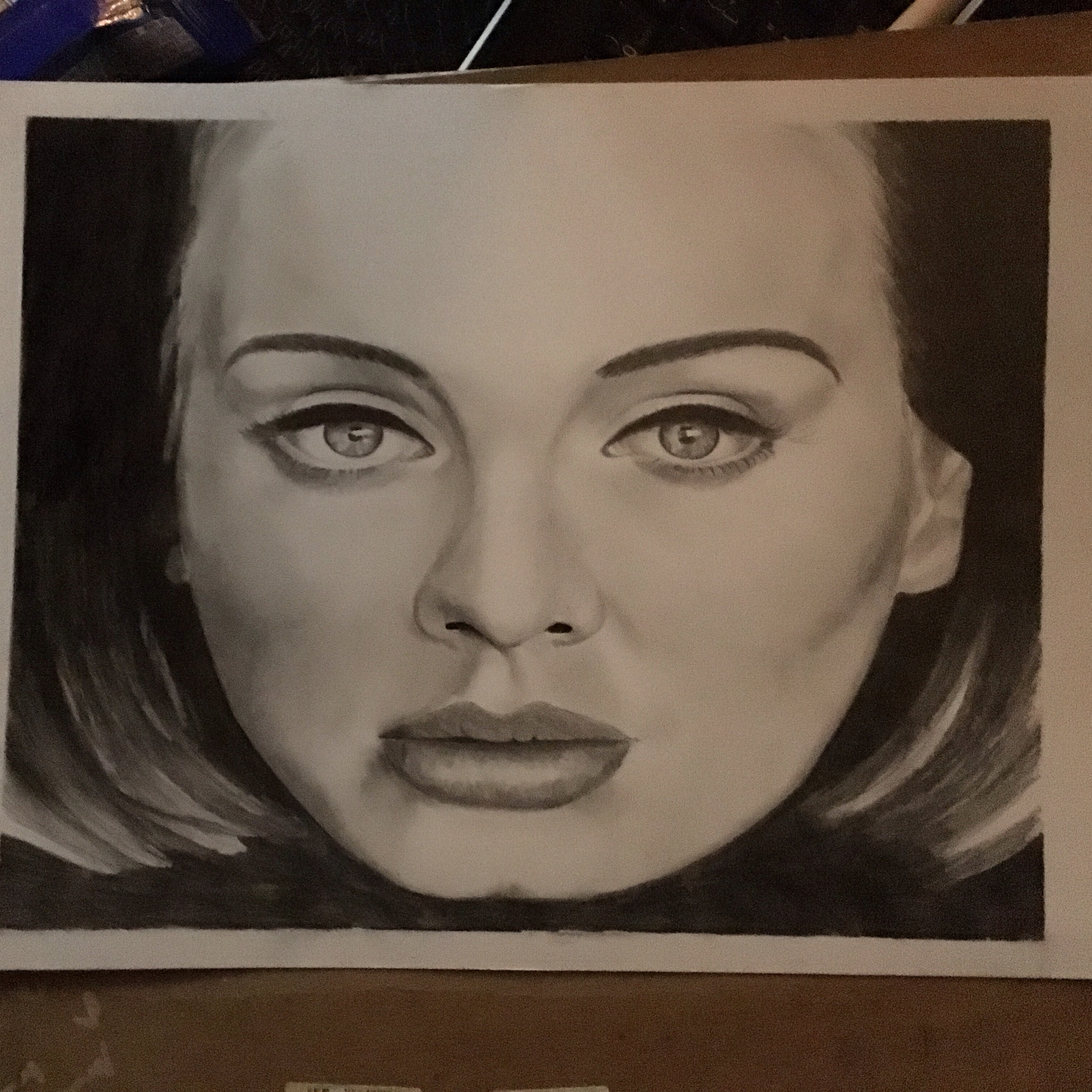 Adele-Hello drawing