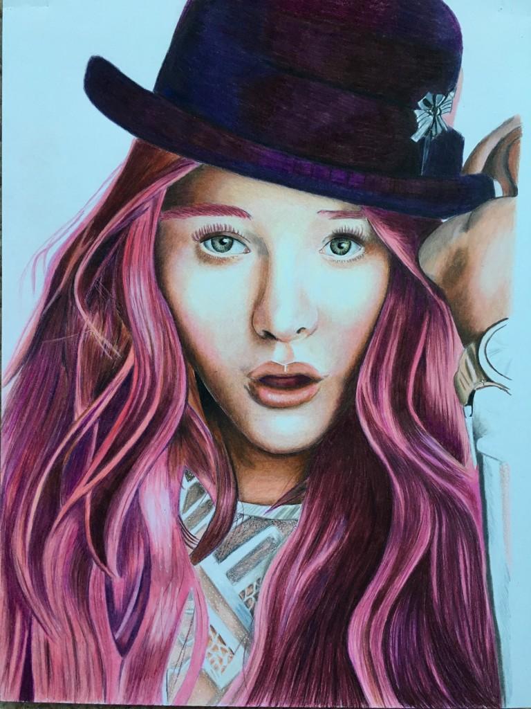 Chloe Grace Moretz Drawing